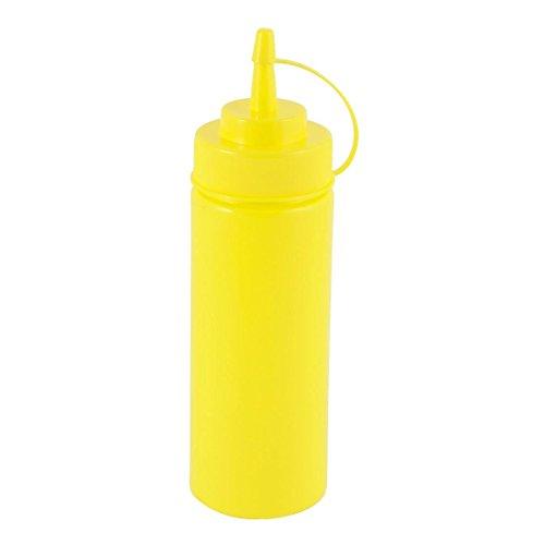asentechuk a prueba de fugas sellado plástico aceite salsa ketchup Squeeze Bottle Vinagre...