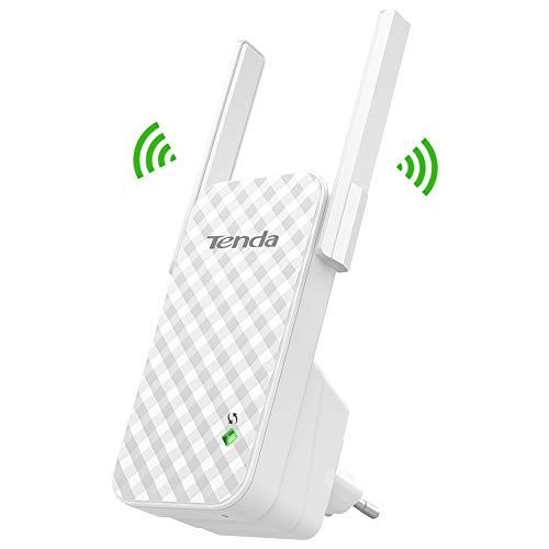Tenda A9 Ripetitore Wifi N300 Mbps Extender Wifi Plug&Play Segnale forte con 2 Antenne Esterne Spina Europa