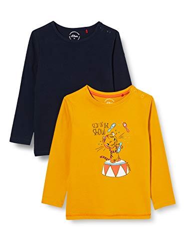 s.Oliver Junior Baby-Jungen 405.10.008.12.130.2056978 T-Shirt, 00M2, 62