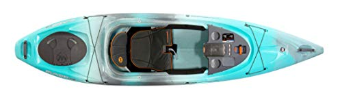 Wilderness Systems Pungo 105   Sit Inside Recreational Kayak   Features Phase 3 Air Pro Comfort Seating   10' 6'   Breeze Blue