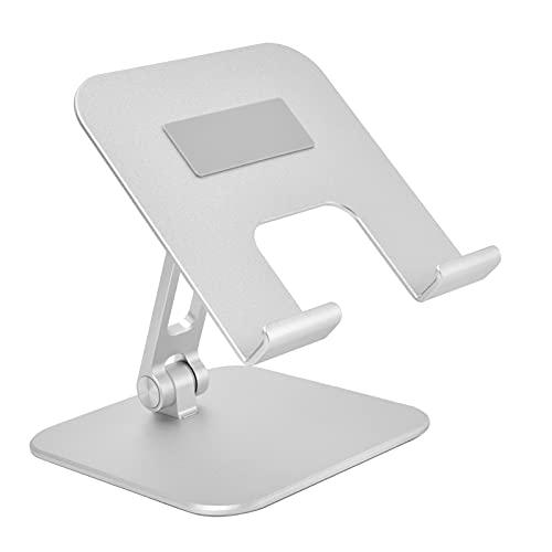 Houder voor mobiele telefoon, behuizing van aluminiumlegering Desktophouder Antikras en antislip Past de hoogte aan met…