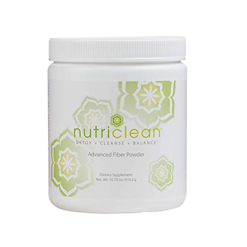 NutriClean Advanced Fiber Powder, Detox, Cleanse, Colon Health, Digestive Health, Healthy Intestinal Function, Healthy Nutrient Absorption, Market America (28 Servings)