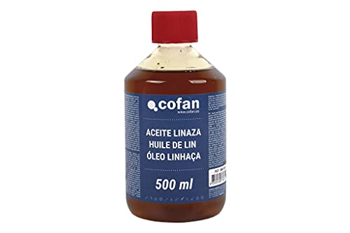 Aceite Linaza Cofan   Envase 500 ml   Ideal para Maderas Exteriores-Interiores