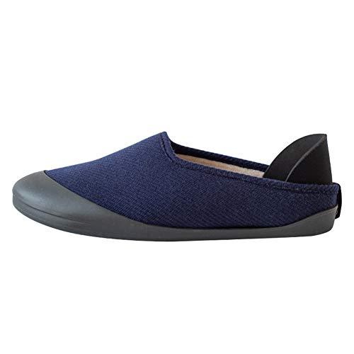 Moaly - Zapatillas unisex con suela extraíble y universal, innovador, para hombre y mujer, para interior y exterior