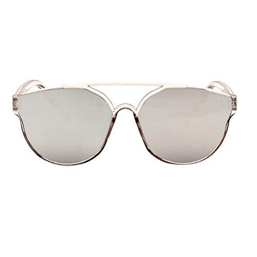 Centens Wuqiong Retro Double Beam Sonnenbrille Partei Straße Frauen Männer Selfie Sonnenbrillen Herren Brillen Frauen-Brillen Eyewear UV400 PC Objektiv-Feld
