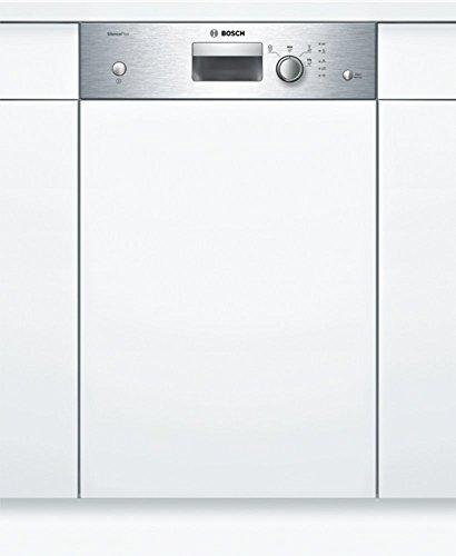 Bosch SPI24CS00E | Lavavajillas 45 cm panelable de alto rendimiento, silencioso, con capacidad para 9 cubierto, 4 programas de lavado, tecnología GlassProtec, varioSpeed entre otras.