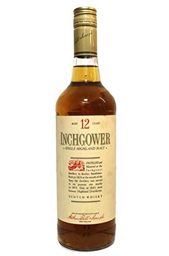 Inchgower single highland malt scotch whisky aged 12 years