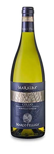 6x 0,75l - 2018er - Marco Felluga - Maralba - Ribolla Gialla - Collio D.O.C. - Friaul - Italien - Weißwein trocken
