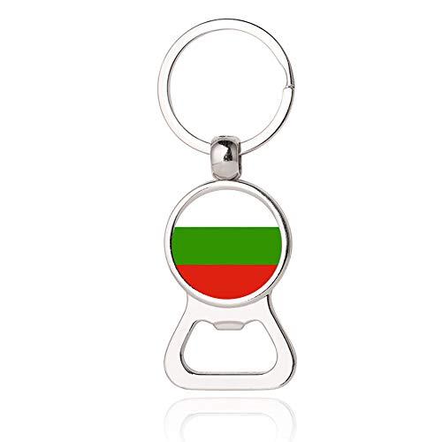 Bulgarien Flagge Bier Flaschenöffner Metall Glas Kristall Schlüsselb& Reise Souvenir Geschenk Schlüsselanhänger Zubehör