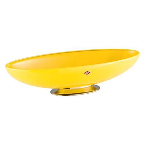 Wesco Obstschale/Brotkorb, Metall, Gelb, Einheitsgröße