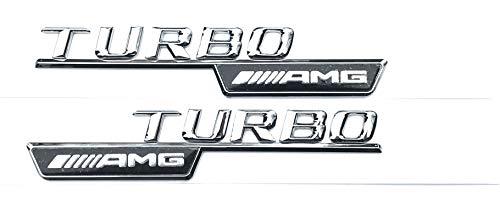 Preisvergleich Produktbild AMG Turbo Wing Emblem,  A45 CLA 45 C63 E63 ML55 ML63