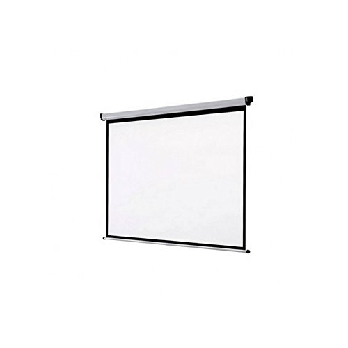 Approx APPP300E Pantalla de proyección - Pantalla para proyector (Motorizado, 3 m, 3 m, Negro, Blanco)