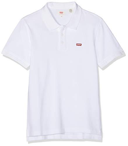 Levi's Housemark Polo Camiseta, Blanco (White + 0001), XXX-Large para Hombre