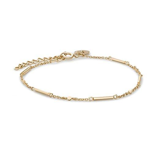 Rosefield The Elizabeth Damen-Armband aus 925er Sterling-Silber – Vergoldet JELG-J001