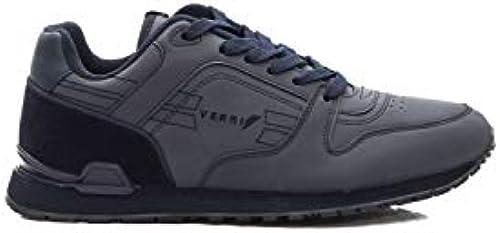 Verri , Herren Turnschuhe Blau 01 Navy 40 EU