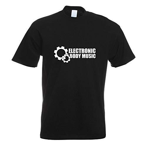 Elektronic Body Music - EBM T-Shirt Motiv Bedruckt Funshirt Design Print