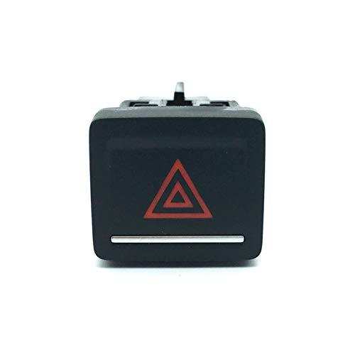 ZHIXIANG Coche Doble Flash Luz Interruptor de Luz de Peligro Advertencia Interruptor de Emergencia Ajuste para Golf 7 MK7 VII 2013-2017 5gg953509 5g 953 509 (Color : Warning Switch)