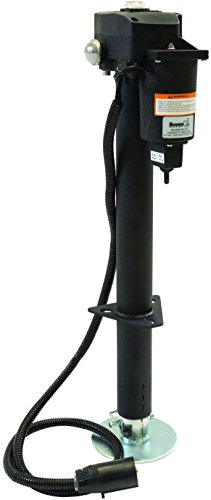 Buyers Products 0093500 3,500 lb. 12 Volt Electric Jack,Medium,Black