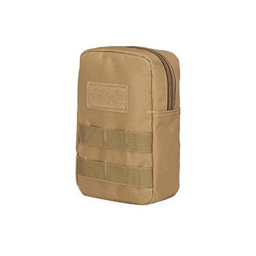 QWKZH Casual Daypacks Outdoor sport paardrijden mobiele telefoon tas met tas leger camouflage tactische EHBO kit accessoires medische tas