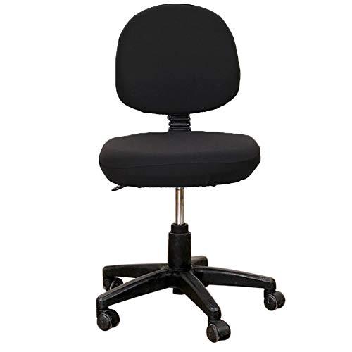 Stretch Jacquard Bureaustoelhoezen, afneembaar wasbaar, anti-stof-bureau, stoel, zitkussen, beschermers