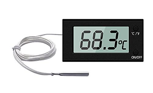 Hotloop Ofenthermometer Digital mit Sonde Grill Fleischthermometer bis 300°C, Backofenthermometer Braten für Grillzubehör für Küche, Braten, Grill, Pizza