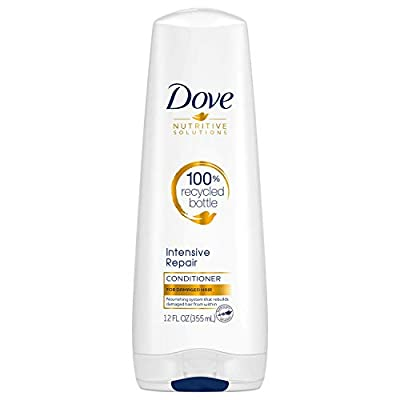 Dove Advanced Care Intense Damage Therapy Conditioner for Accumulated Damage with Keratin Repair Actives, 12 Ounce