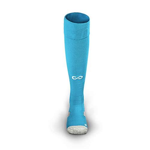 Feixunfan Calcetines de Futbol Calcetines de fútbol Los Calcetines de Deportes de Tubos Largos de los Hombres se engrosaron en la Rodilla Resistentes al Desgaste para Baloncesto Hockey