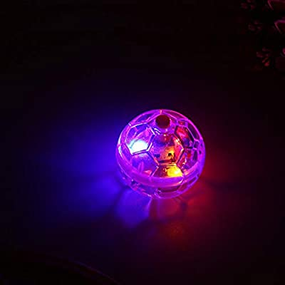 Flashing Cat Ball Toy, Pet Cat Interactive Ball Durable LED Motion Activated Cat Ball Light Transparent Play Ball for Cat