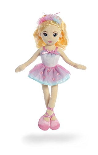 Aurora World Ballerina Mia Doll Plush