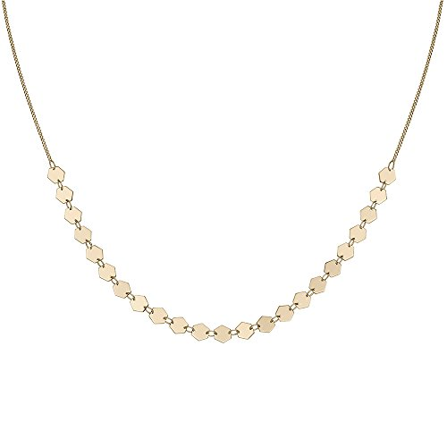 CLUSE Damen-Halskette aus Choker Messing CLJ21003