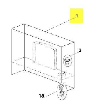 RESERVOIR POUR PETIT ELECTROMENAGER CLIMADIFF - 11020032