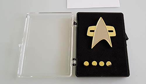 Unbekannt Voyager - Captain Communicator + Rank pin Set 5 teilig Metall Star Trek