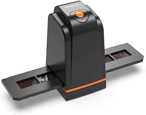 135 Film Slide Scanner Converts Negative,Slide&Film to Digital Photo,Supports MAC/Windows XP/Vista/ 7/8/10