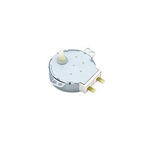 XACQuanyao LMY-BBQLBZ, 1 unid AC 220-240V 4W 6RPM 48mm Dia Micro síncrono Motor de Ajuste para el soplador de Aire Caliente 50 / 60Hz CW/CCW TYJ50-8A7 Motor de Bandeja de Horno de microondas