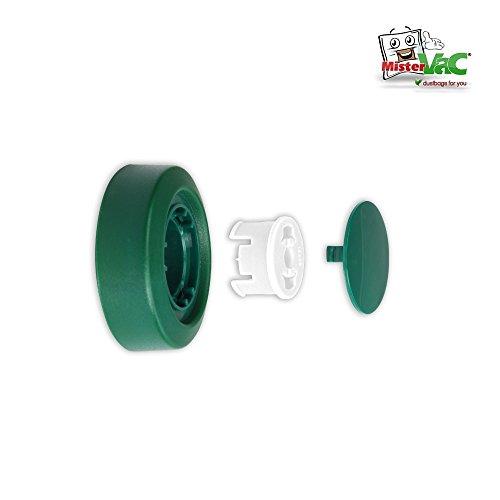 Rad + Felge geeignet für Teppichbürste Vorwerk EB 350, EB 351 (EB-350)
