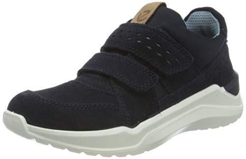 Ecco Jungen INTERVENE Sneaker, Blau (Night Sky/Dusty Blue 51781), 32 EU