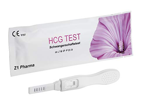 5x Z1 Pharma® Schwangerschaftstest Stick G2