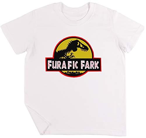 Furafic Fark Niños Chicos Chicas Unisexo Camiseta Blanco