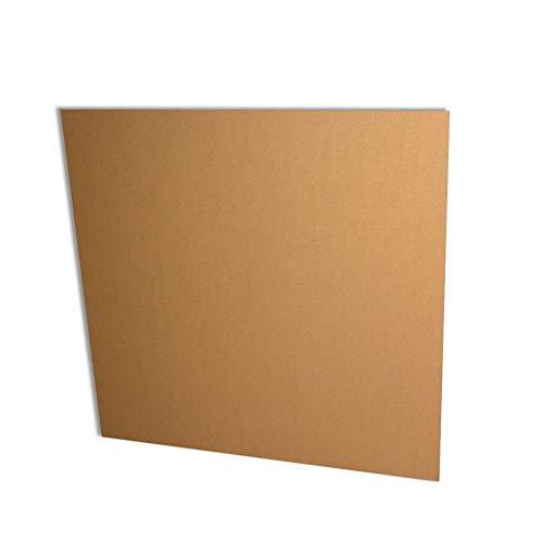 50 Planchas cartón ondulado 80x120 cm. Canal simple marrón.