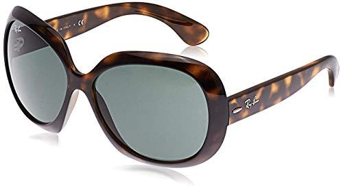 Ray-Ban Unisex Rb 4098 Sonnenbrille, Braun (Gestell: Havana, Gläser: Grün Klassisch 710/71), X-Large (Herstellergröße: 60)
