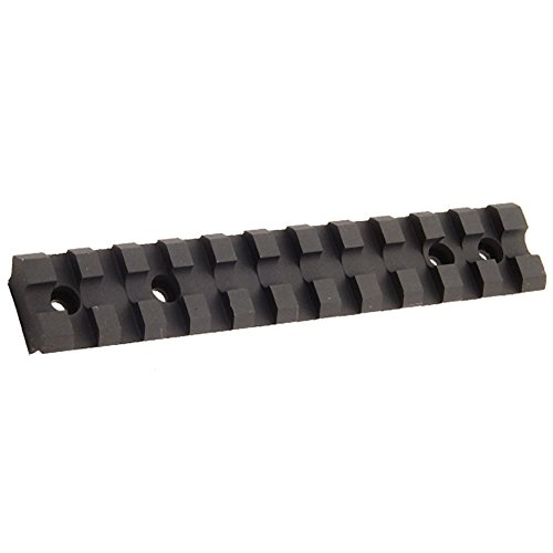 UTG Tactical Low Profile Rail Mount for Ruger 10 22 Rifle , Black