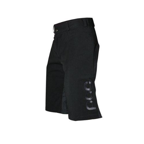 POC Fahrradbekleidung Flow Shorts, Uranium Black, XS/28, 63032