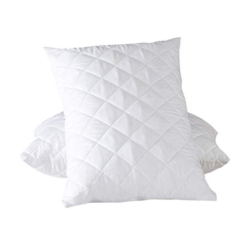 Cube Pillow for Side Sleepers, w/ Breathable Cotton Pillowcase for Neck Support, Ergonomic Memory Foam Pillow Soft Head Cushion Thicker and Firmer Pillow for Vertebral Protection