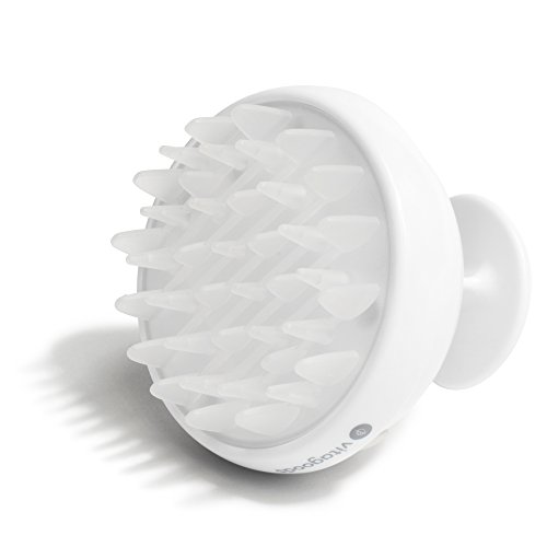 Vitagoods Scalp Massaging Shampoo Brush - Handheld Vibrating Massager, Water-Resistant Device -...