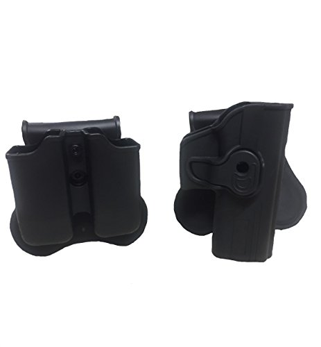Double Magazine Paddle Holster / Pouch fits Glock 19, 17, 23, 32 and Glock Kydex Holster