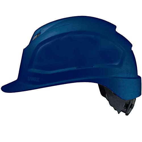 Uvex Pheos IES Schutzhelm - Belüfteter Arbeitshelm für die Baustelle - Blau Blau