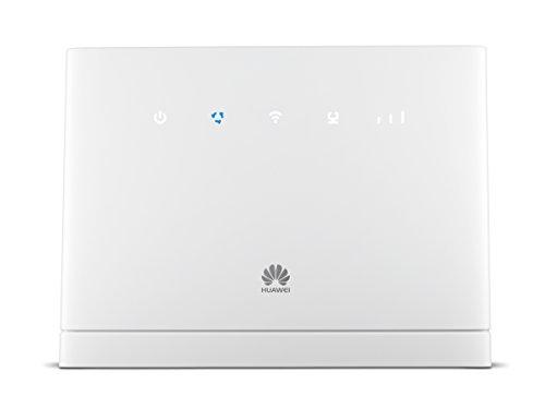 Huawei B315s-22 Router Wireless 4G da 150 Mbps 4G con 3 Antenne Integrate, 4 Porte LAN, 2.4 GHz Dual Band