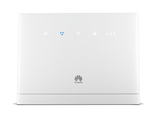 Huawei B315s-22 Router Wireless 4G da 150 Mbps 4G con 3 Antenne Integrate, 4 Porte LAN, 2.4 GHz Dual Band