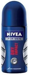 Nivea Deo Ranking TOP10 for Men High material 48h Dry Deodorant Roll-o Impact Antiperspirant