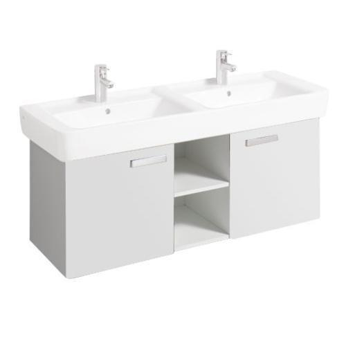 Keramag Waschbeckenunterschrank Renova Nr. 1 Plan, 879230 120x44,5cm x46,3cm Weiß 879230000